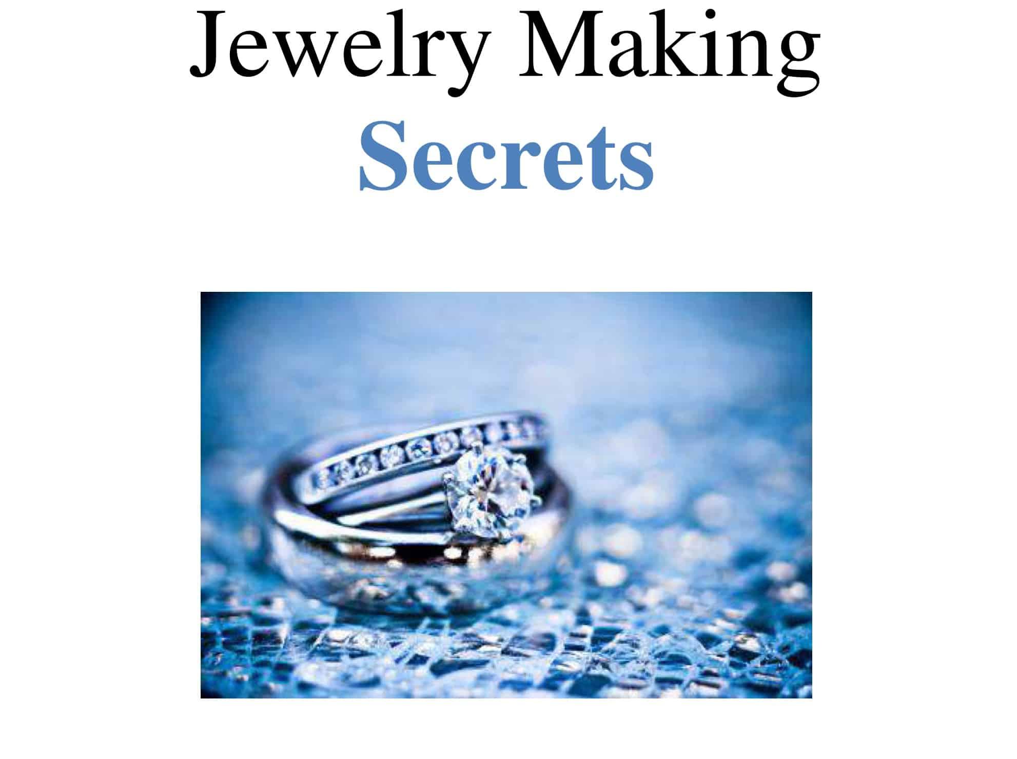 Jewelry Making Secrets Free Gift
