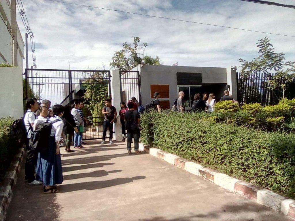 Thai Consulate. Savannakhet. Thai Visa Application.