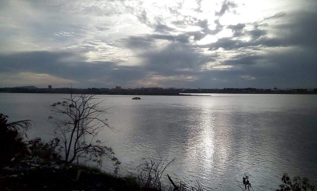 View of Mekong River from Savannakhet.