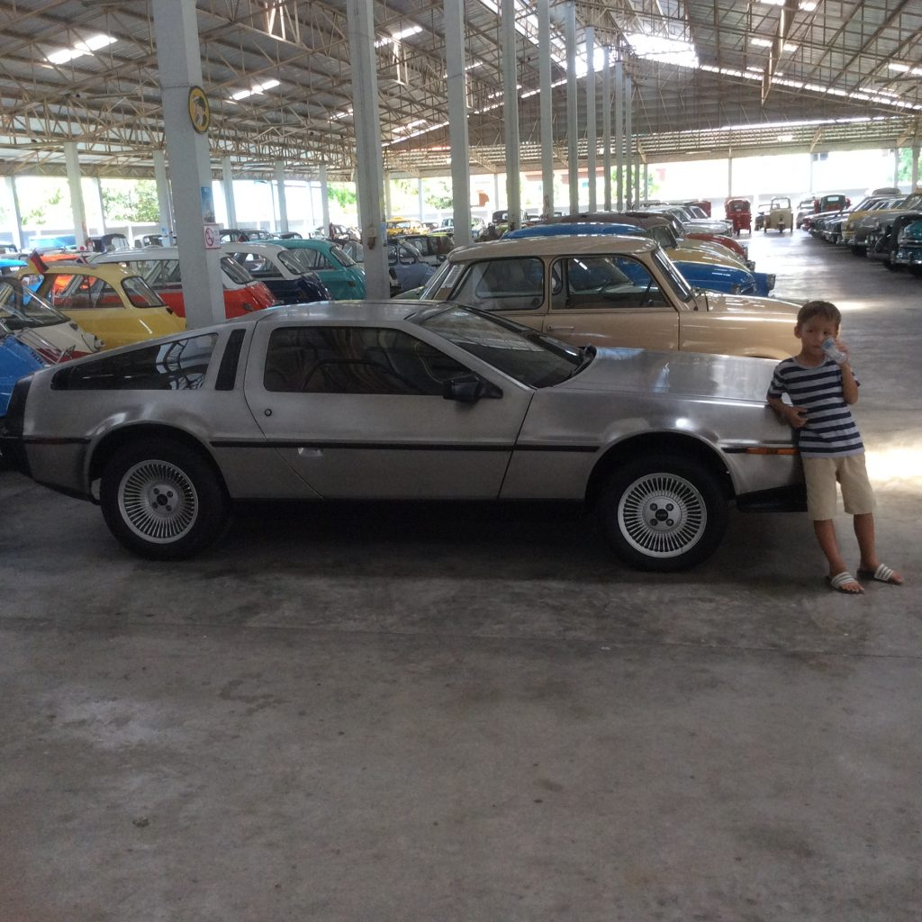 Back to the future-Jessica Vehicle Museum- Thailand