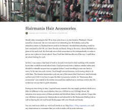 About Hairmania Hair Accessories